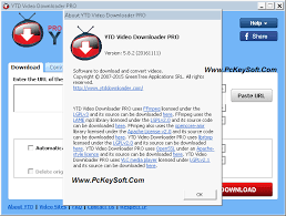YTD Video Downloader Pro 5.9.13 Crack With Serial Key Free Download