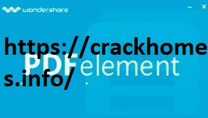 Wondershare PDFelement 7.3.4.4627 Crack