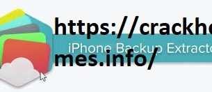 iPhone Backup Extractor 7.7.6.2400 Crack