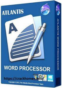 Atlantis Word Processor 2020 with Crack