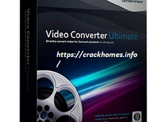 Wondershare Video Converter Ultimate 11.7.6 Crack