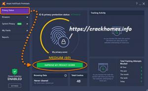 Avast AntiTrack Premium 2020 Crack