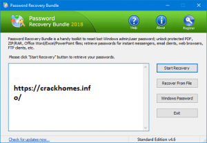 Password Recovery Bundle 2020 Crack